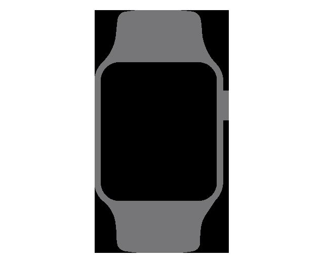 Apple Watch Series 3 42mm Asztroszürke színű alumíniumtok fekete sportszíjjal