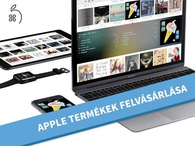 Apple termékek felvásárlása AZONNAL készpénzért - iPhone/iPad/iMac/MacBook/ Watch Felvásárlása a HasznaltAlmán