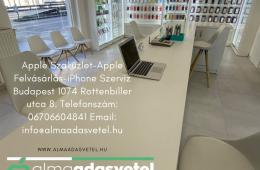 Készpénzes Apple Felvásárlás! Gyors Korrekt Ügyintézés! Bp. 1074 Rottenbiller utca 8. www.almaadasvetel.hu