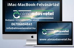 iMac-MacBook FELVÁSÁRLÁS! Azonnali készpénzes Apple felvásárlás! www.almaadasvetel.hu