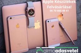 Apple Készülékek Felvásárlása! iPhone-iPad-Apple Watch-MacBook-iMac azonnali készpénzes felvásárlás! www.almaadasvetel.hu