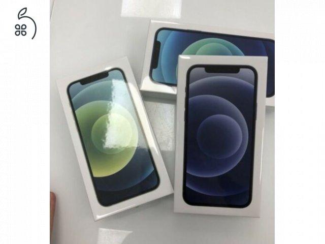 BONTATLAN Új Iphone 12 64-256GB 1év hivatalos APPLE garancia Deák Térnél AZONNAL ÁTVEHETŐ