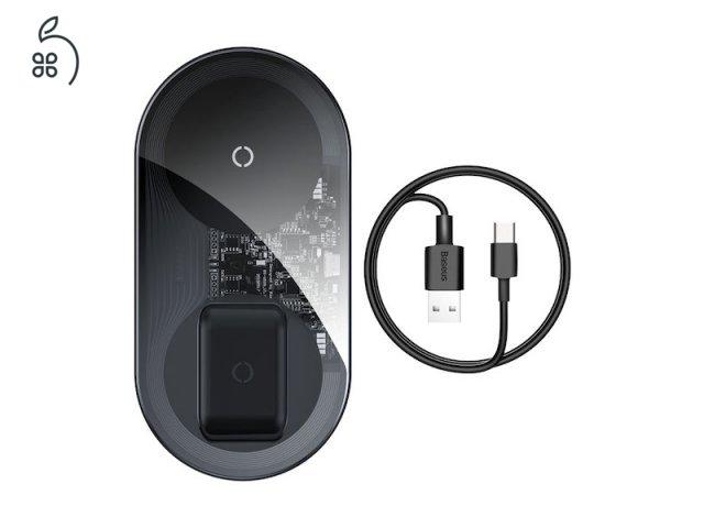 Baseus Simple Pro Edition 2in1 vezeték nélküli töltő 3 SZÍNBEN