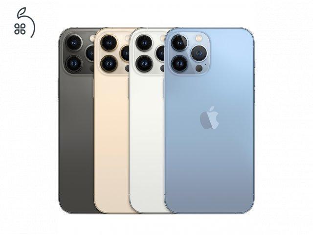 iPhone 13 Pro Max összes tárhely és szín ** bontatlan, gyári független ** Készleten limitáltan