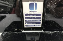 ÁRZUHANÁS iPhone 7 kijelző csere azonnal, garanciával (iSzerelés.hu)