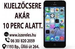 Betört iPhone-od kijelzője? Esetleg nem reagál? Mi segítünk! (iSzerelés.hu)