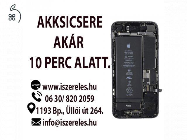 iPhone akkumulátor csere Budapesten! (iSzerelés)