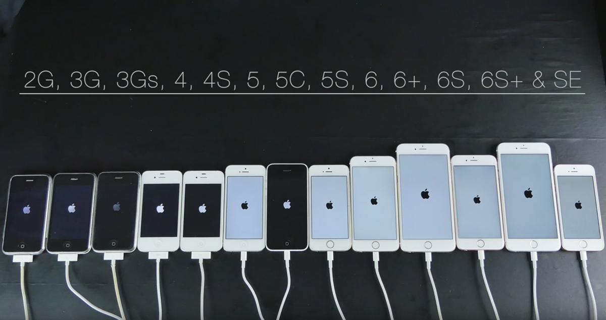 Az eddigi összes iPhone egy közös sebességteszten