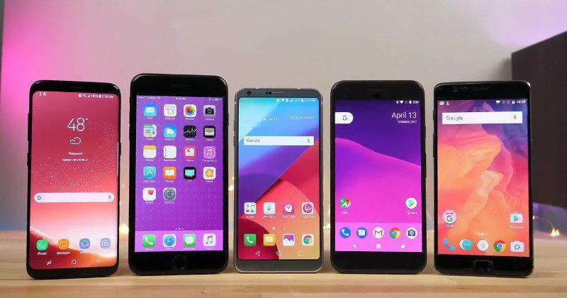 Videó: Galaxy S8, iPhone 7 Plus, Google Pixel és OnePlus 3T sebességteszt
