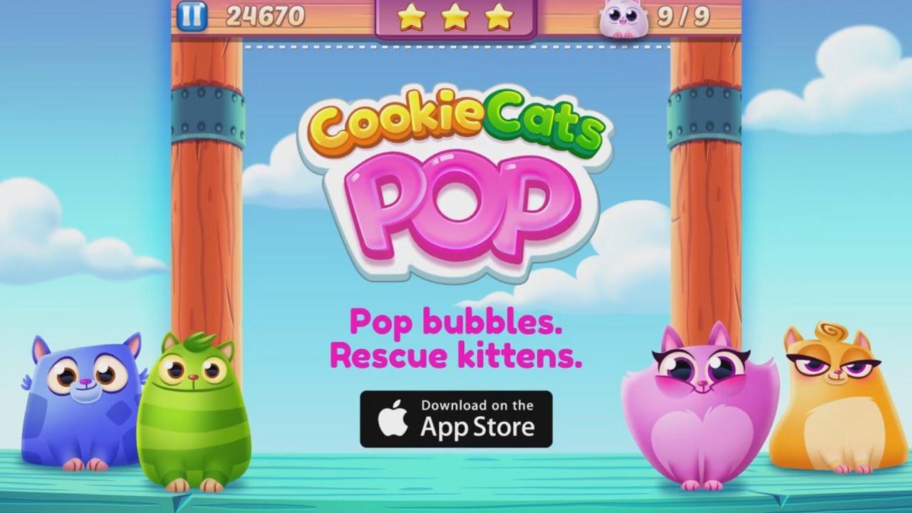 Cookie Cats Pop・Ismerkedő