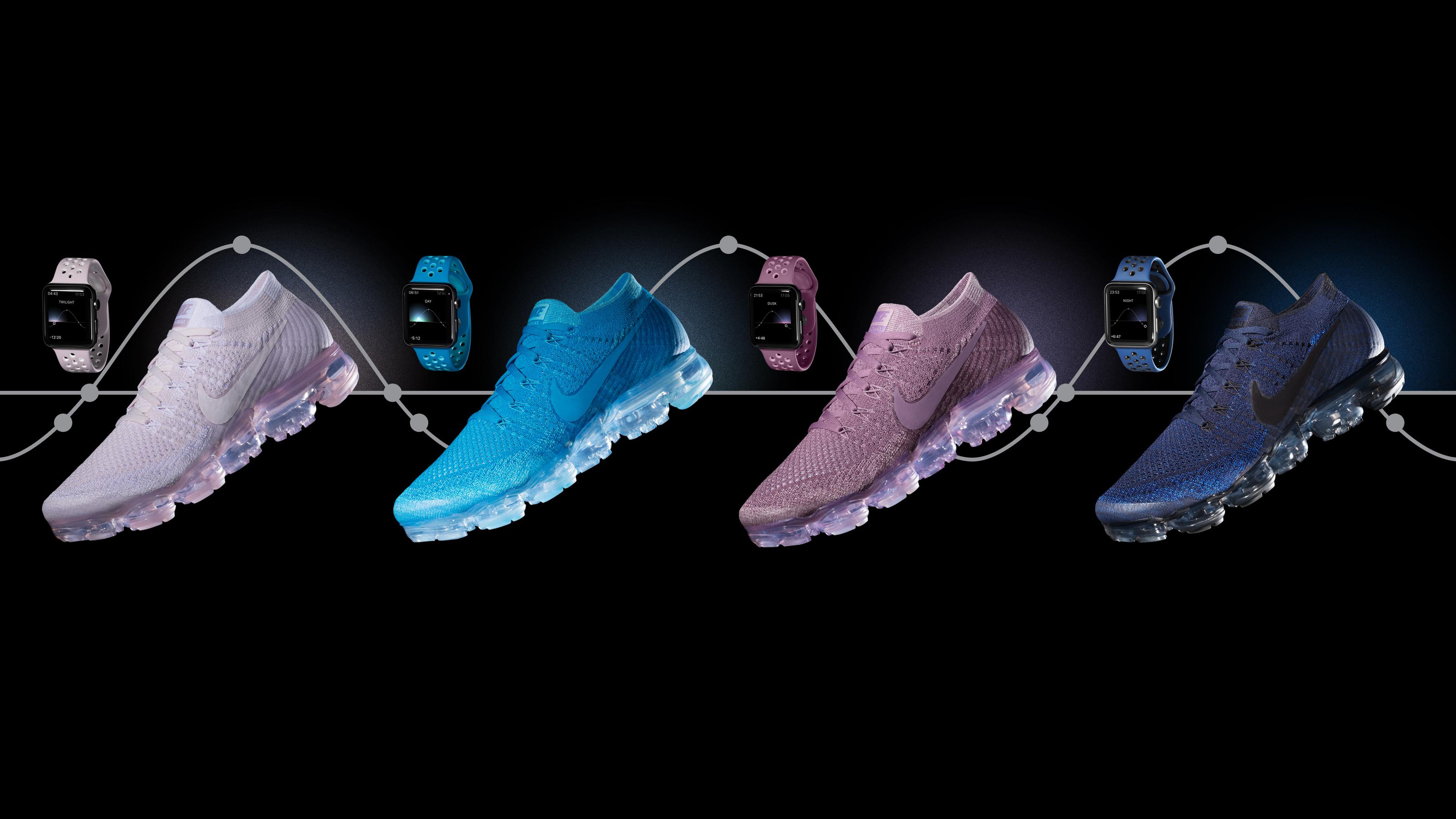 Érkeznek a cipőhöz passzoló Nike Apple Watch szíjak