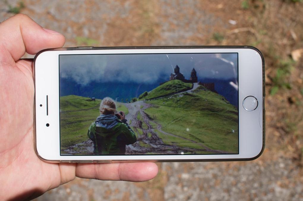 Mennyire erős az iPhone 7 Plus kijelzője tűző napsütésben?