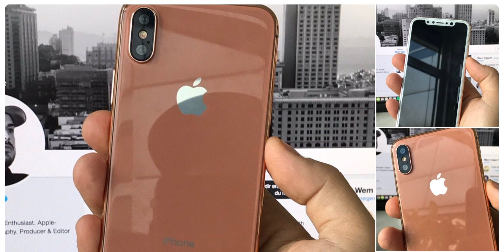 Érkezhet a bronz iPhone 8?