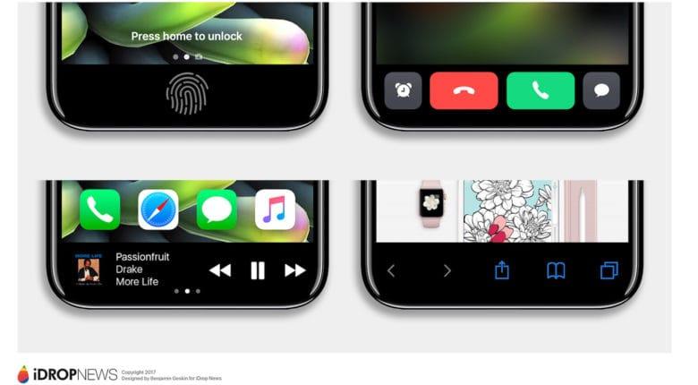 Sokkal jobb lesz az iPhone 8 virtuális Home gombja, mint azt gondoltuk volna!