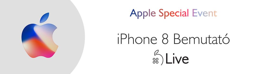 iPhone 8 és iPhone X bemutató - ÉLŐ KÖZVETÍTÉS