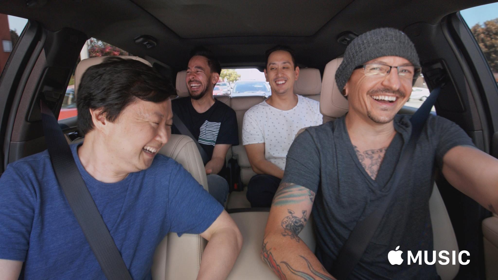 Nyilvánosan megtekinthető lesz a Linkin Park közreműködésével forgatott Carpool Karaoke
