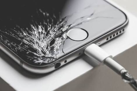 Betörted az iPhone kijelző üvegét, leesett?