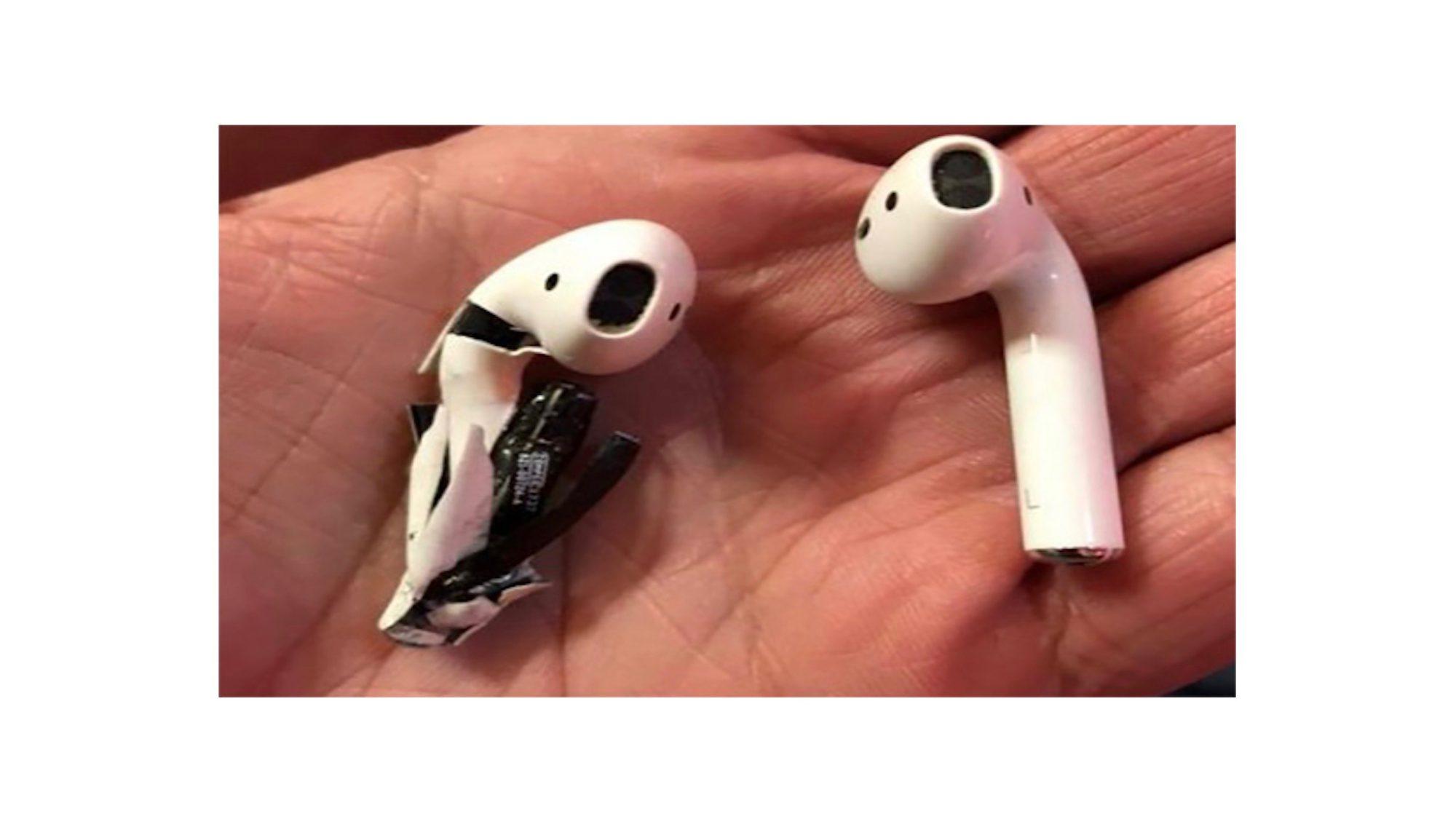 Elfüstölő és széteső AirPods fülhallgatót vizsgál az Apple