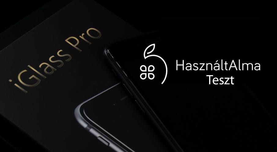 iGlass Pro: a legjobb iPhone kijelzővédő 10.000 Ft-ért?
