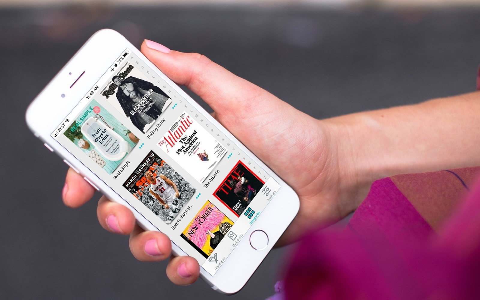 Az Apple megvette a magazinok csúcsplatformját