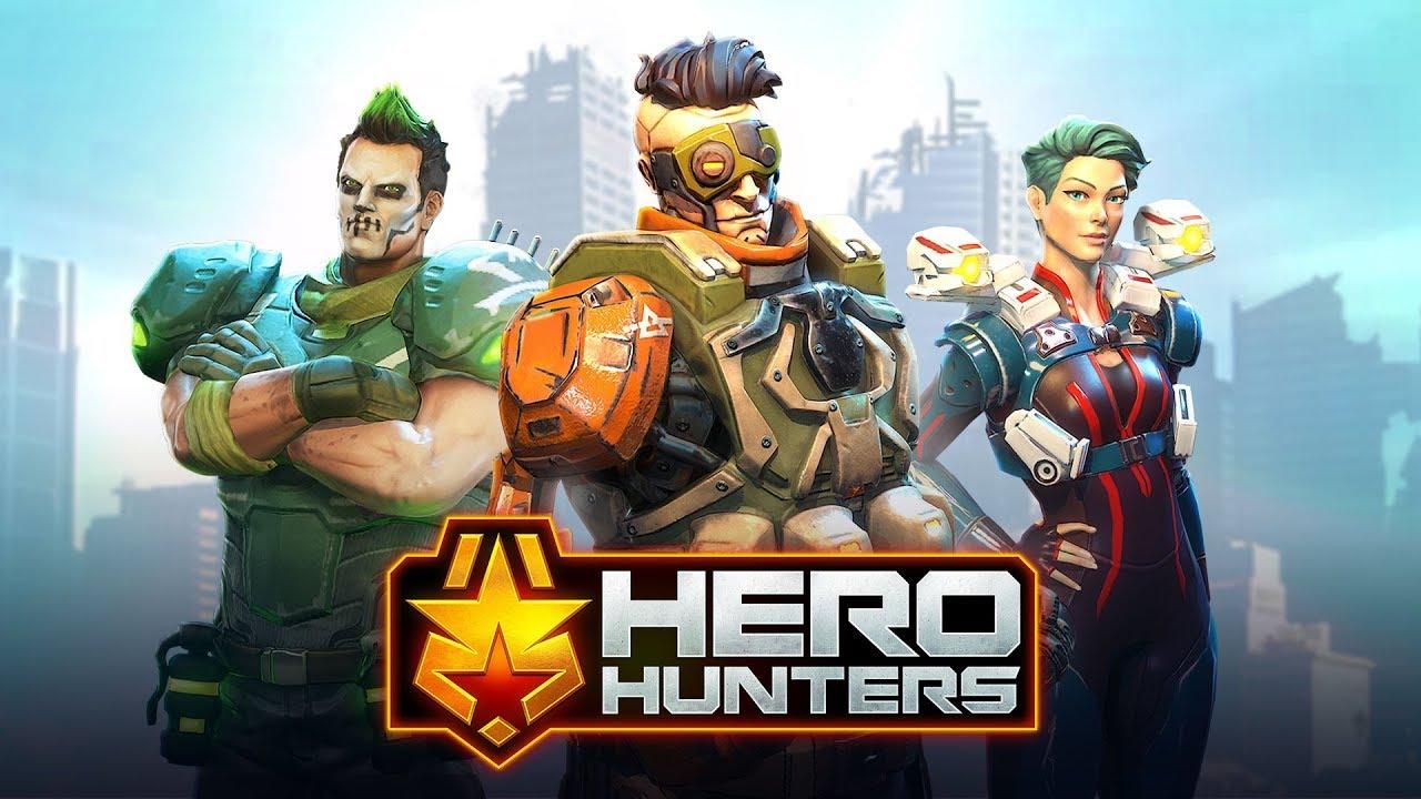 Hero Hunters・Tesztlabor