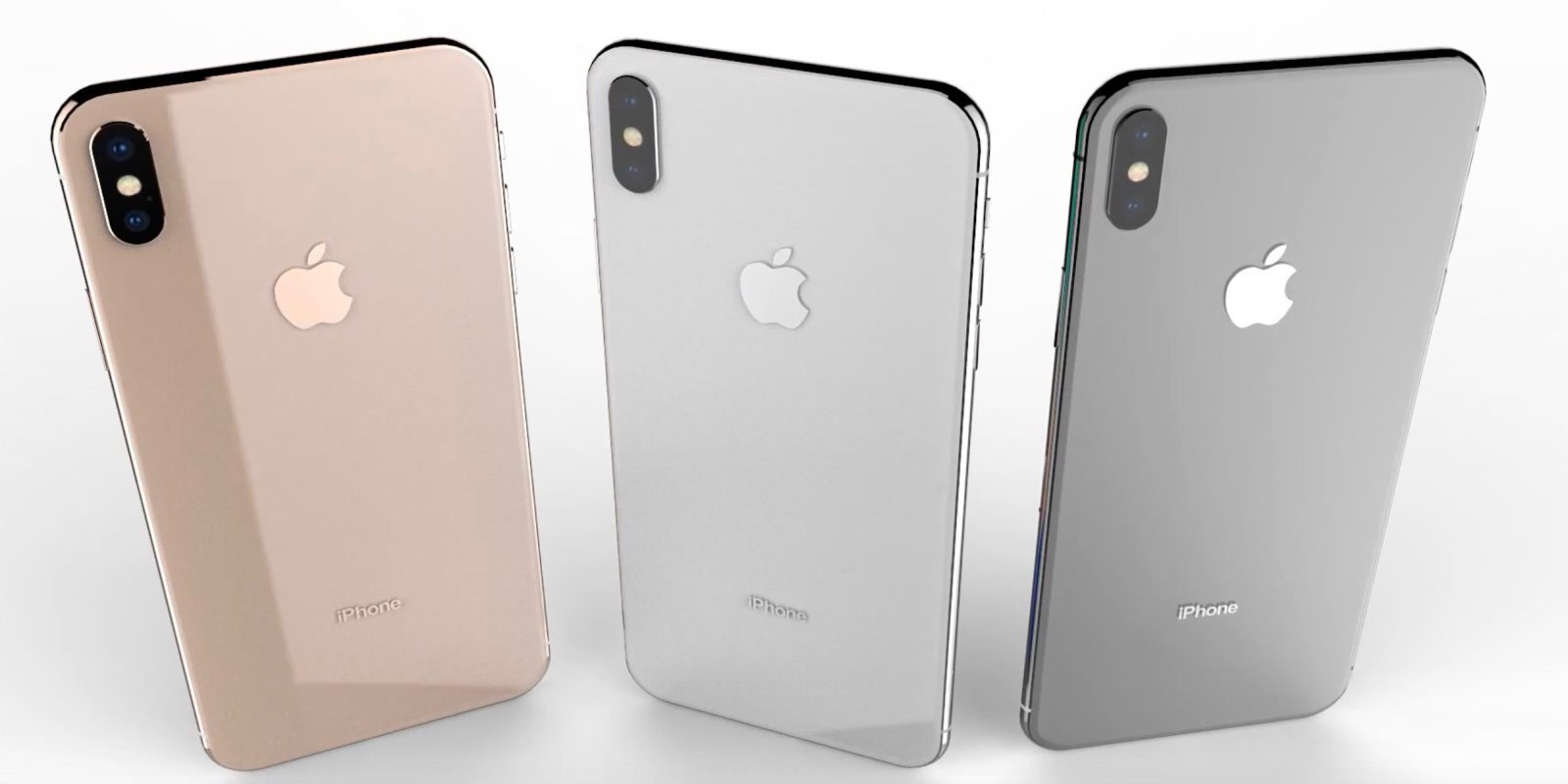 Szinte biztos, hogy az Apple tervezett arany iPhone X-et is