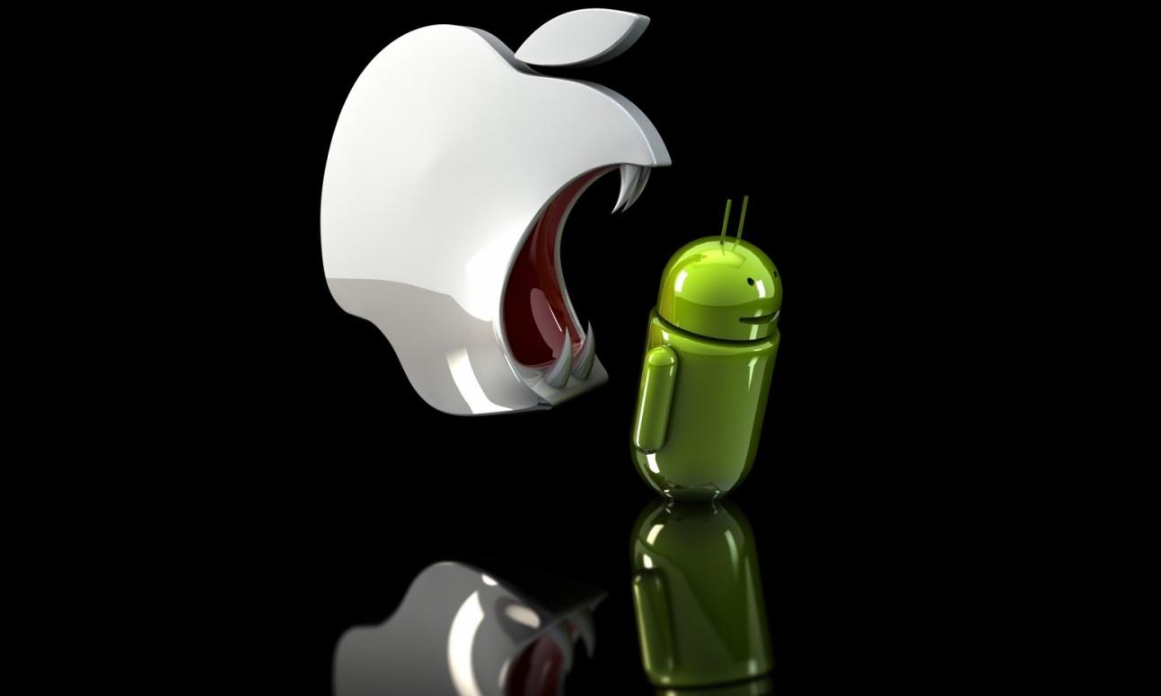 Amiben nagyon veri az Apple az Androidot