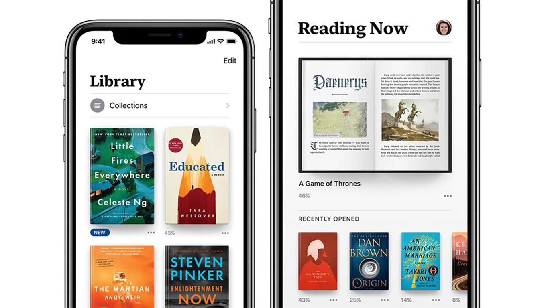 Az Apple bemutatta a megújult Books applikációt