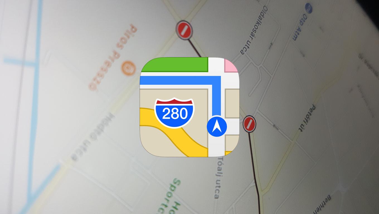 Megújul az Apple Maps, de vajon képes lesz megelőzni a Google Maps alkalmazást?