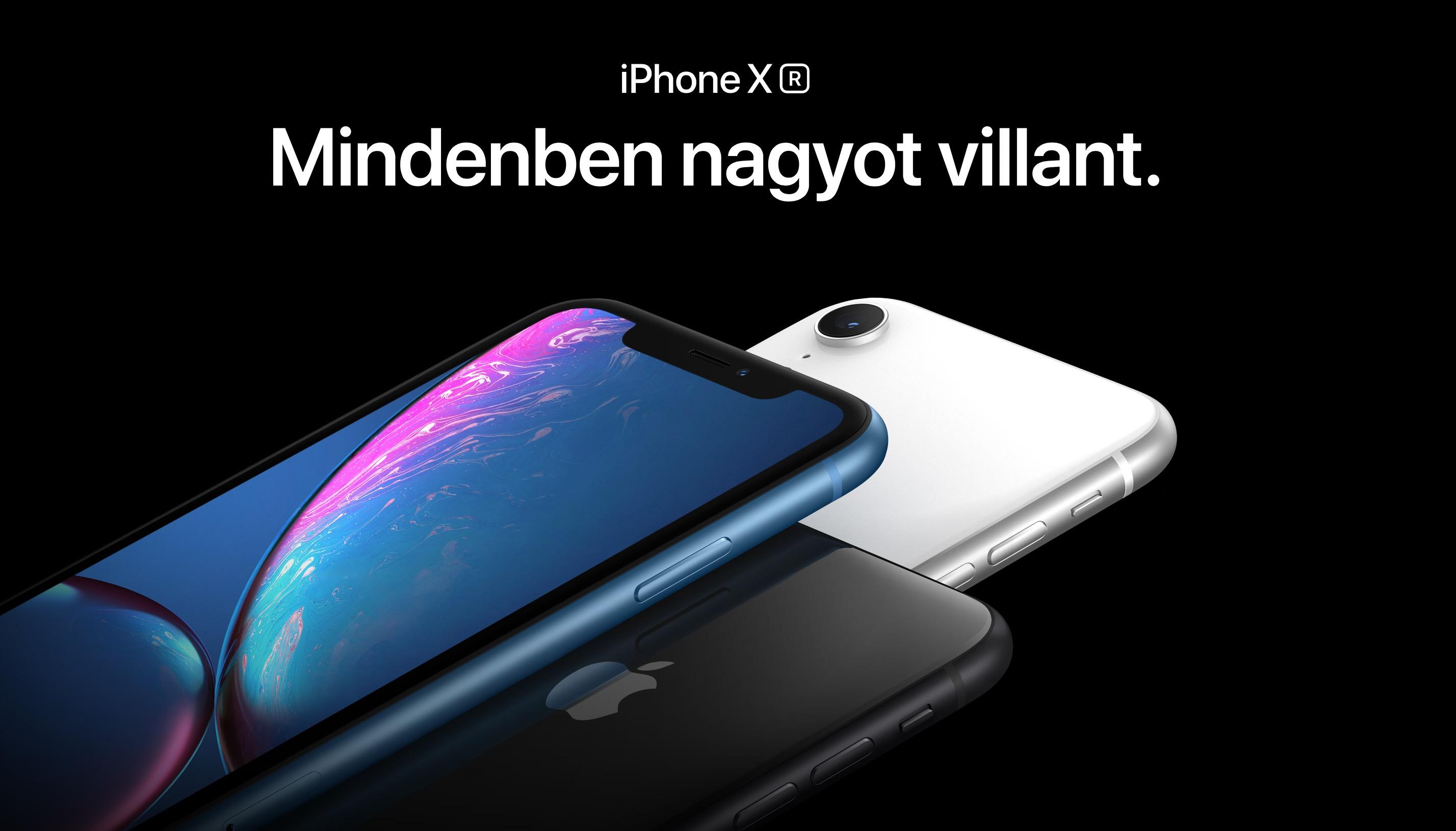 Most már biztos, hogy ekkor indul itthon az iPhone XR