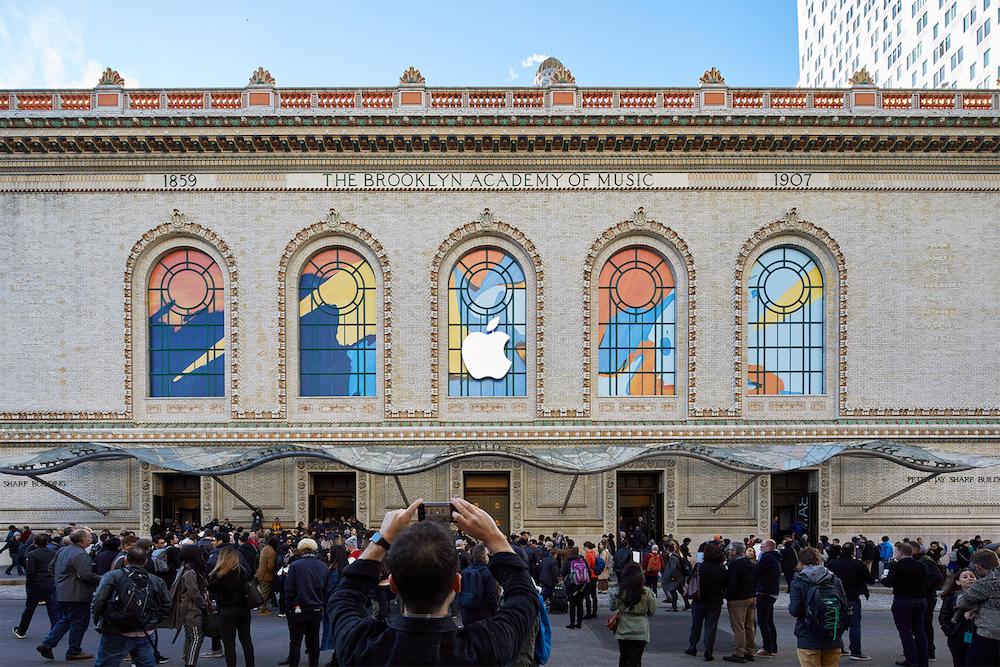 Az Apple októberi eseménye képekben
