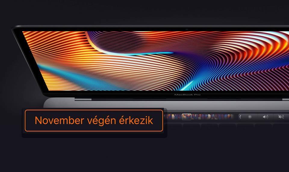 A csendes pénztárcagyilkos MacBook Pro opció november végén érkezik