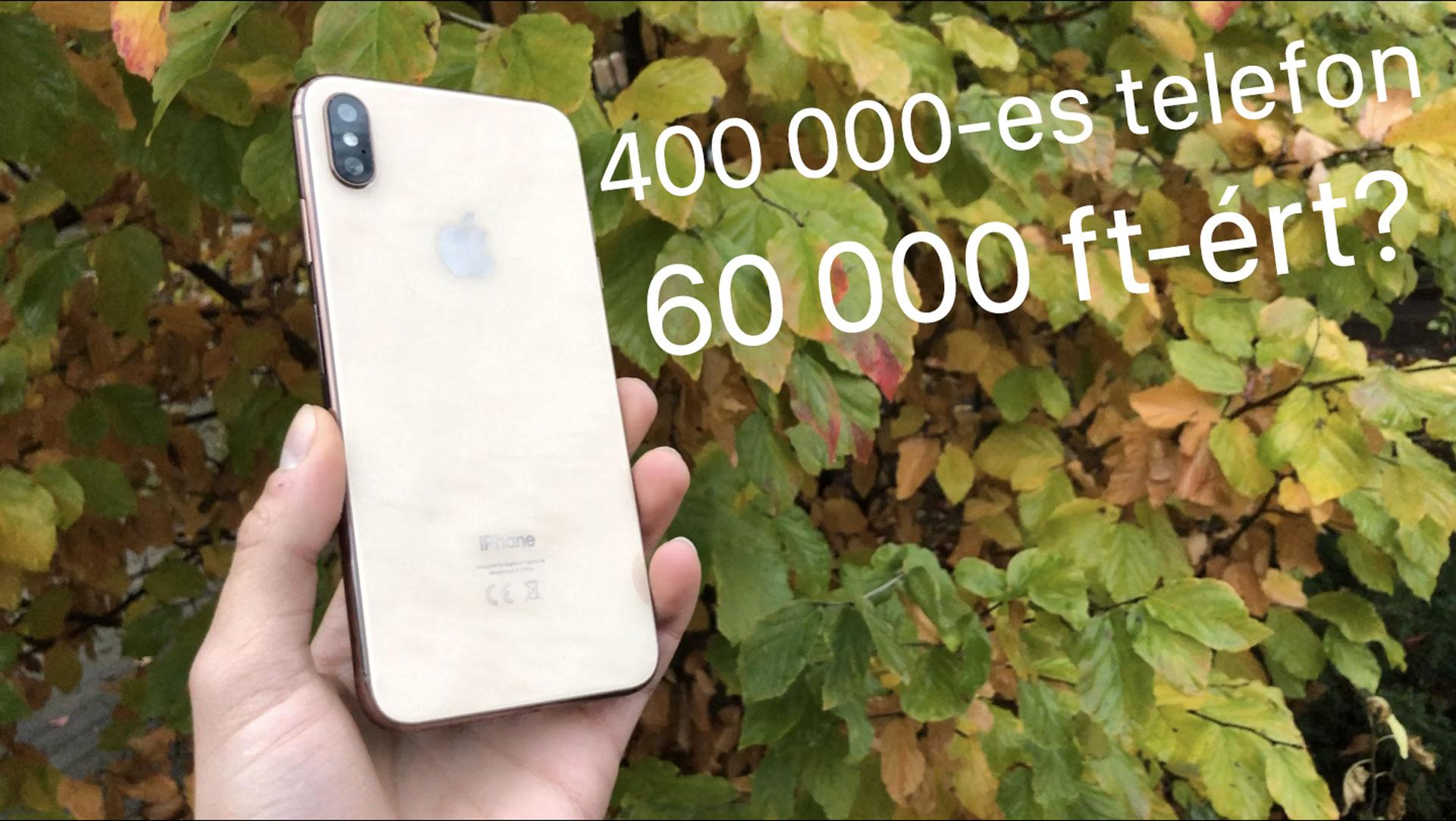 iPhone XS Max 60 000 forintért?! (KLÓN) [videó]