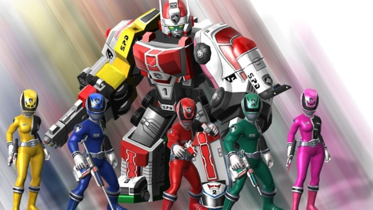Power Rangers: All Stars・Tesztlabor