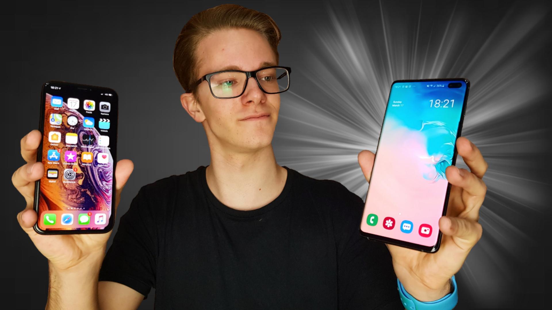 Samsung Galaxy S10, egy igazi iPhone guru szemével [Videó]