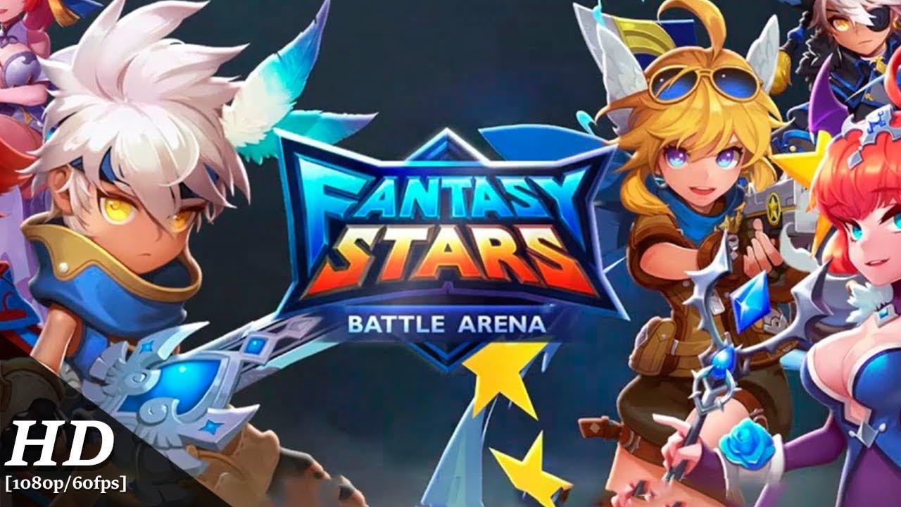 Fantasy Stars: Battle Arena・Tesztlabor