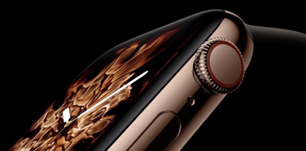 Az Apple Watch Series 4 kijelzője az év kijelzője