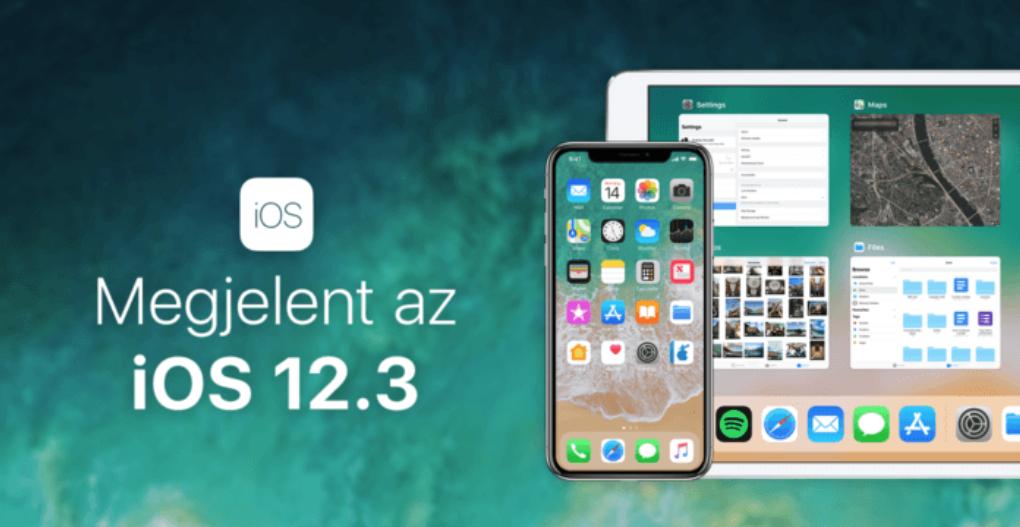 Tegnap este megérkezett az iOS 12.3 - a letöltés mindenkinek ajánlott