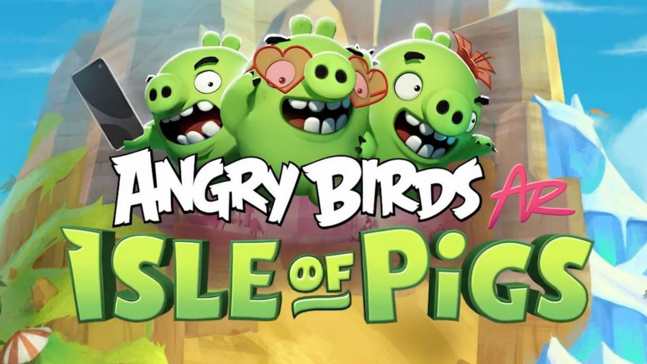 Angry Birds AR・Tesztlabor