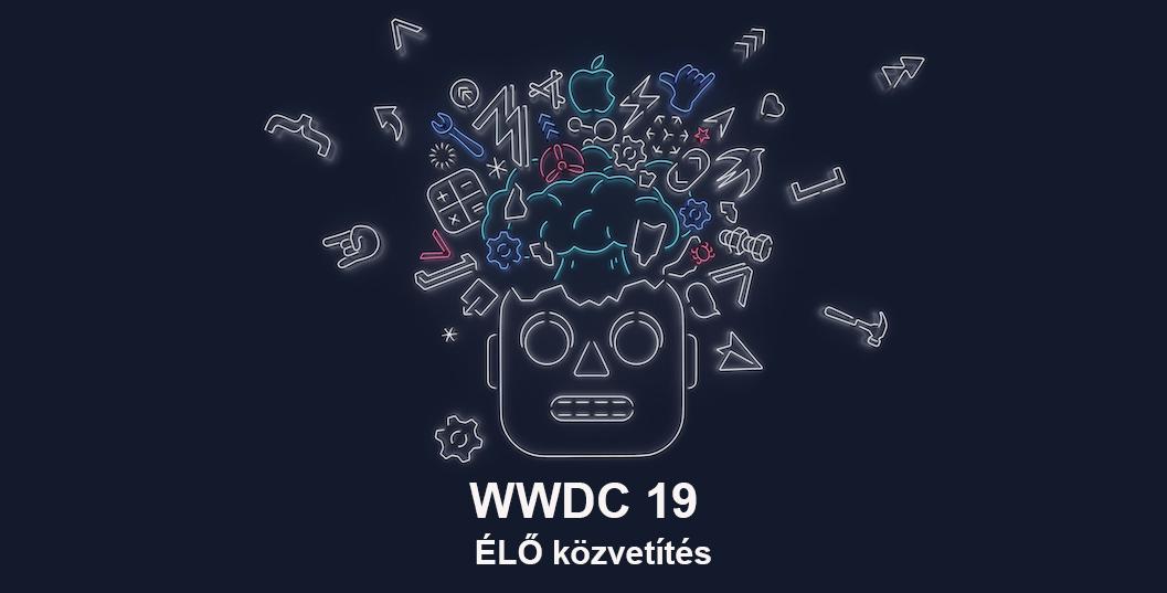 WWDC19 ÉLŐ közvetítés a HasznaltAlma-n