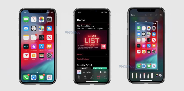 Friss képek szivárogtak ki a jövőheti WWDC 19-en bemutatásra kerülő iOS 13-ról