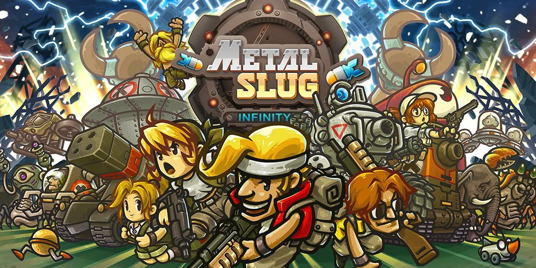 Metal Slug Infinity・Tesztlabor