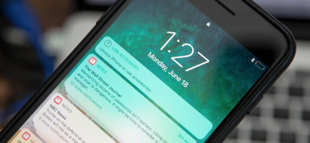 Nem tölt az iPhone-od zárolt képernyőnél?