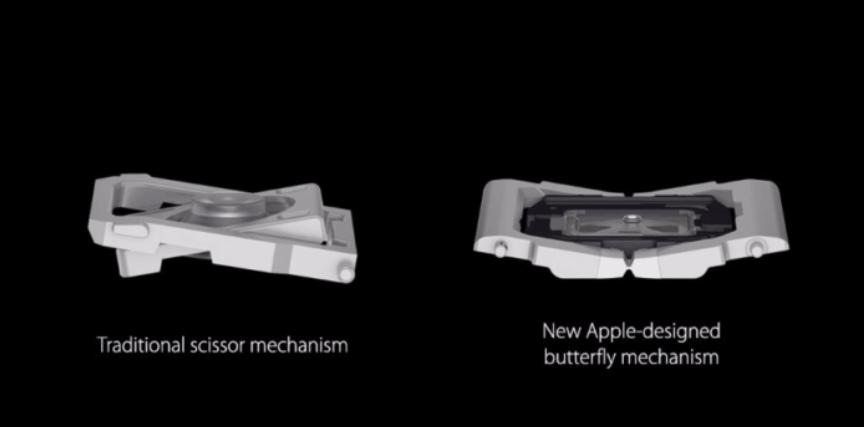 Az Apple hamarosan lecseréli pillangómechanikás billentyűzetet