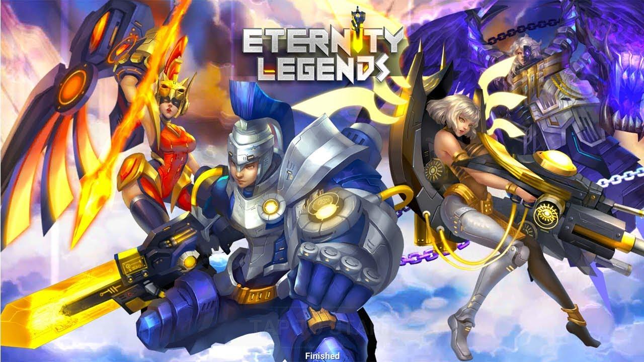Eternity Legends・Tesztlabor