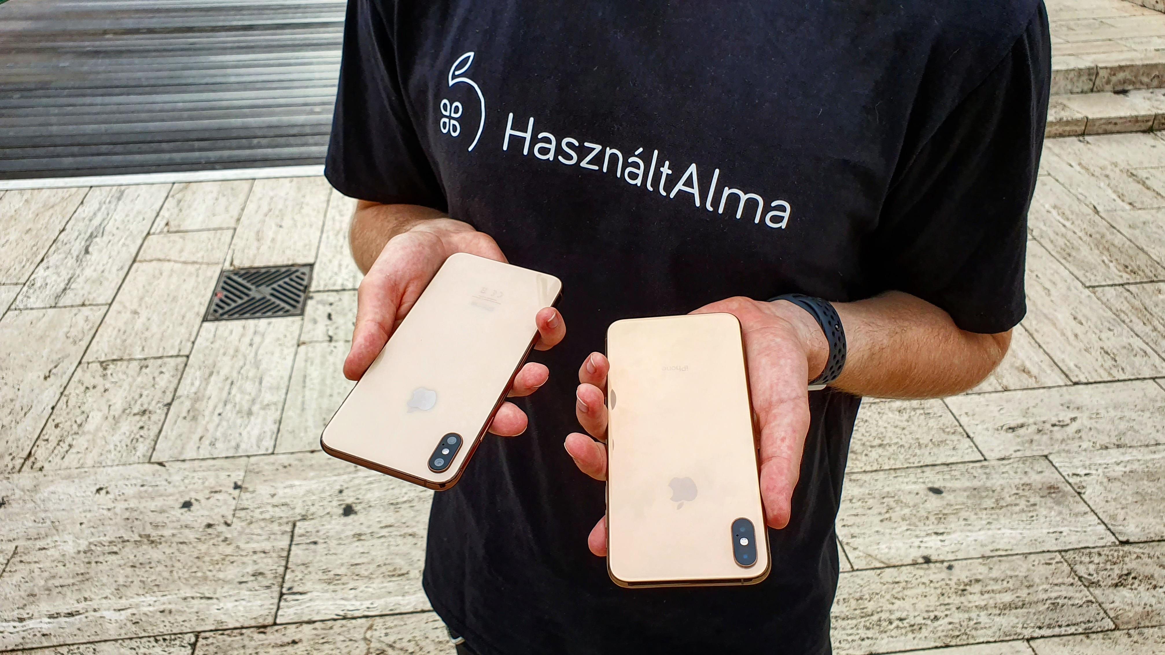 """""""Vajon melyik az igazi iPhone?"""" – Megkérdeztük a járókelőktől [Videó]"""
