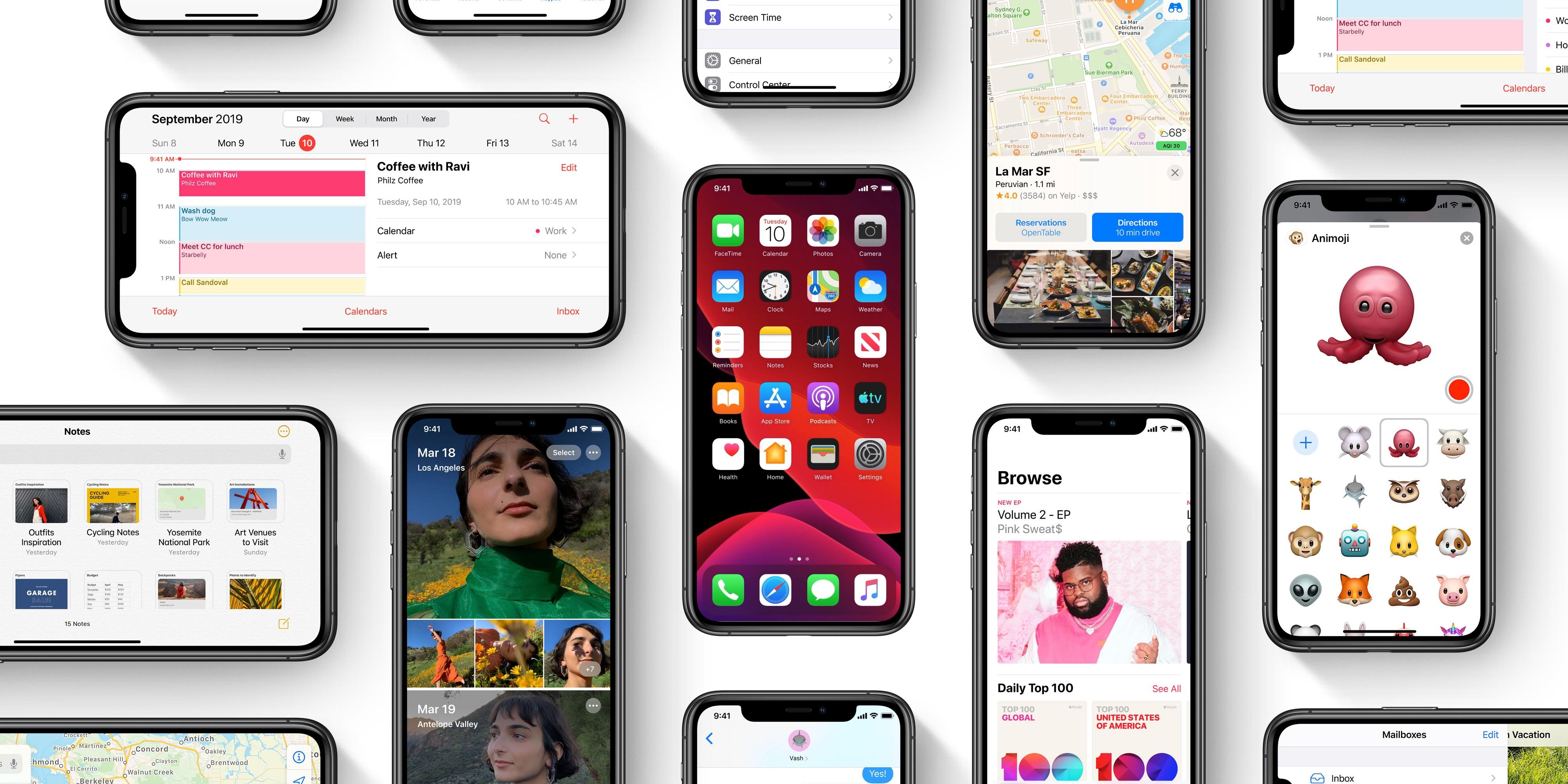 Megérkezett az iOS 13, íme a 13 legjobb funkció