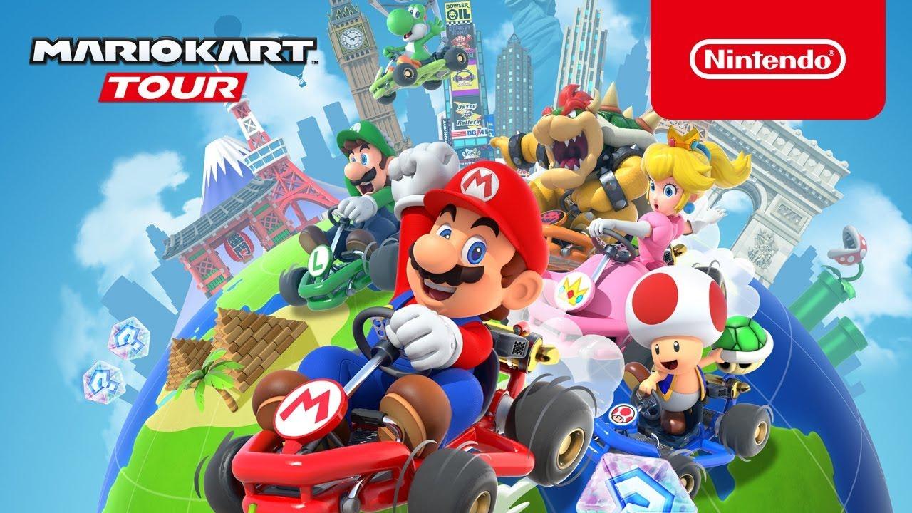 Mario Kart Tour・Tesztlabor