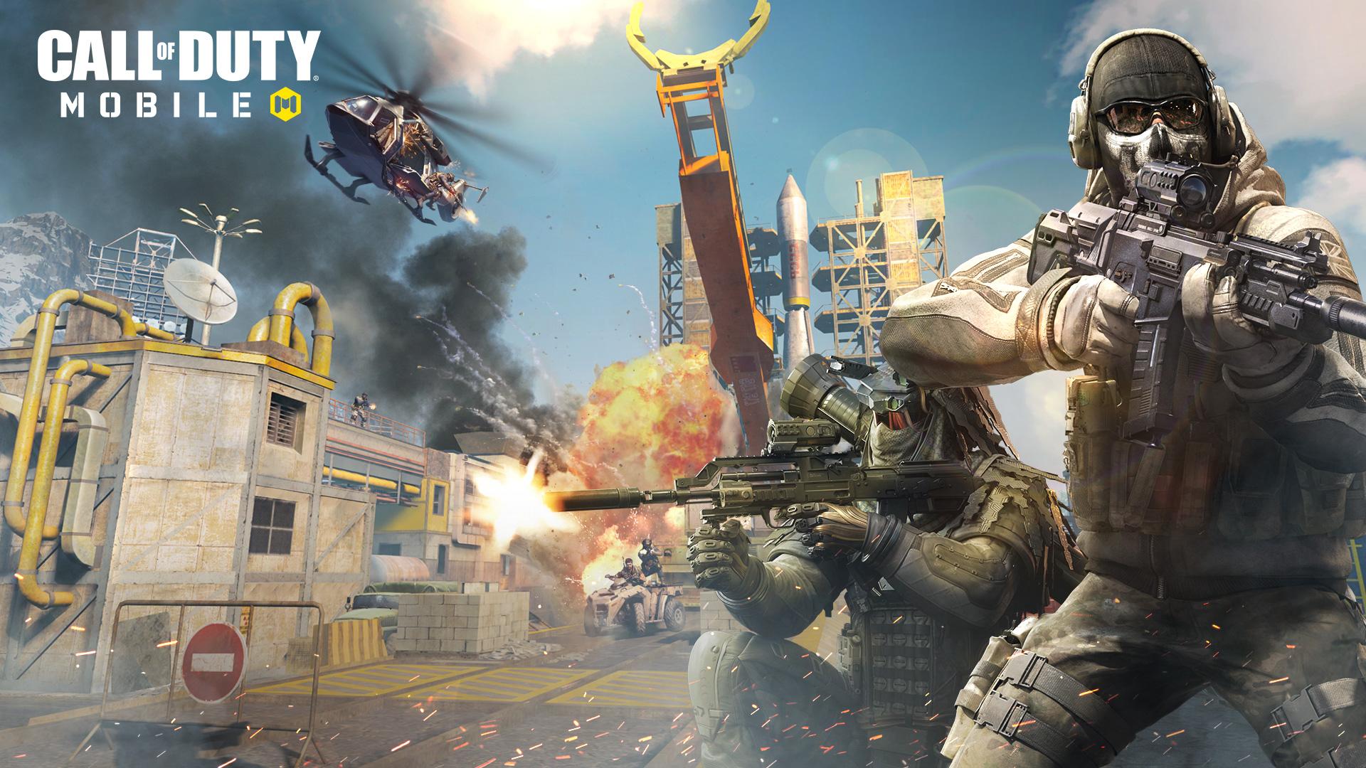 Call of Duty Mobile・Tesztlabor