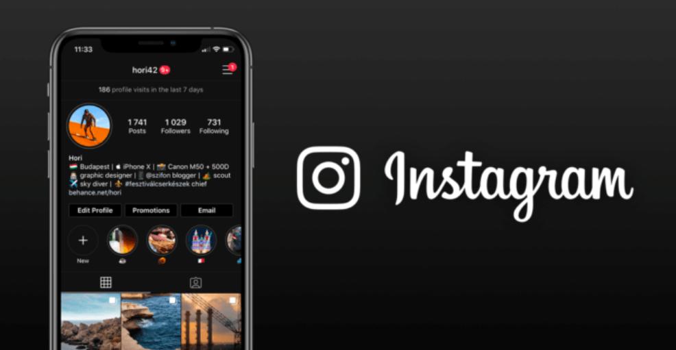 Megérkezett a dark mode az Instagramra